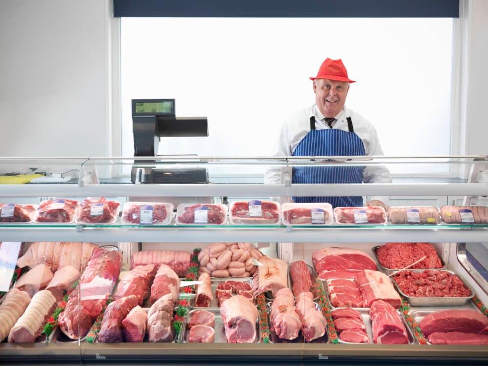 Fleisch vom Metzger