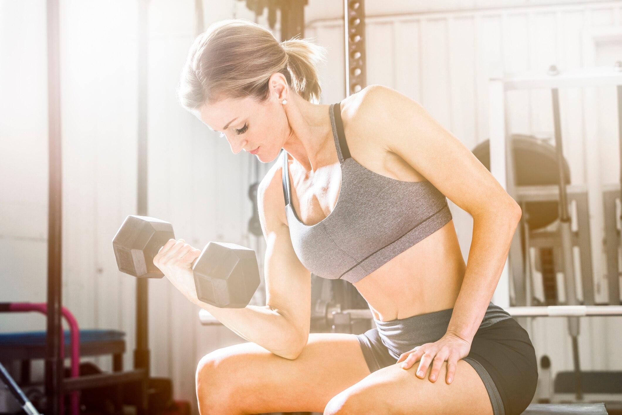 3 einfache Übungen für knackige Oberarme