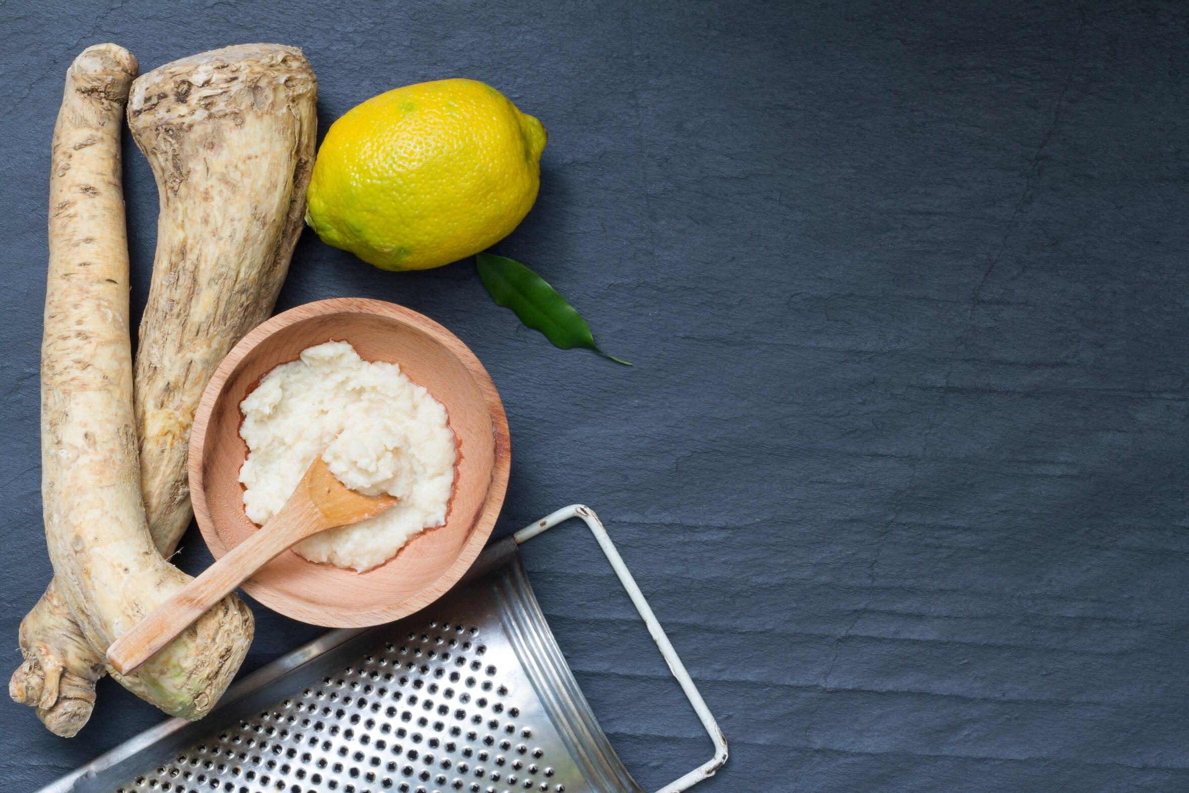 Meerrettich hat doppelt so viel Vitamin C wie Zitronen