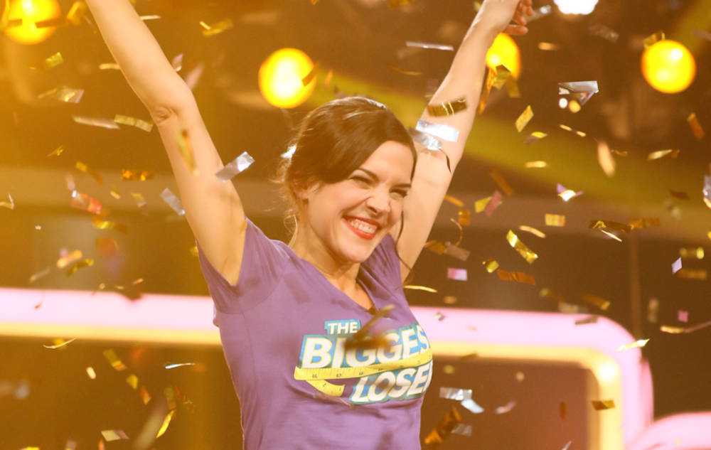 "Alexandra gewann die Sendung ""The Biggest Loser"" 2017"