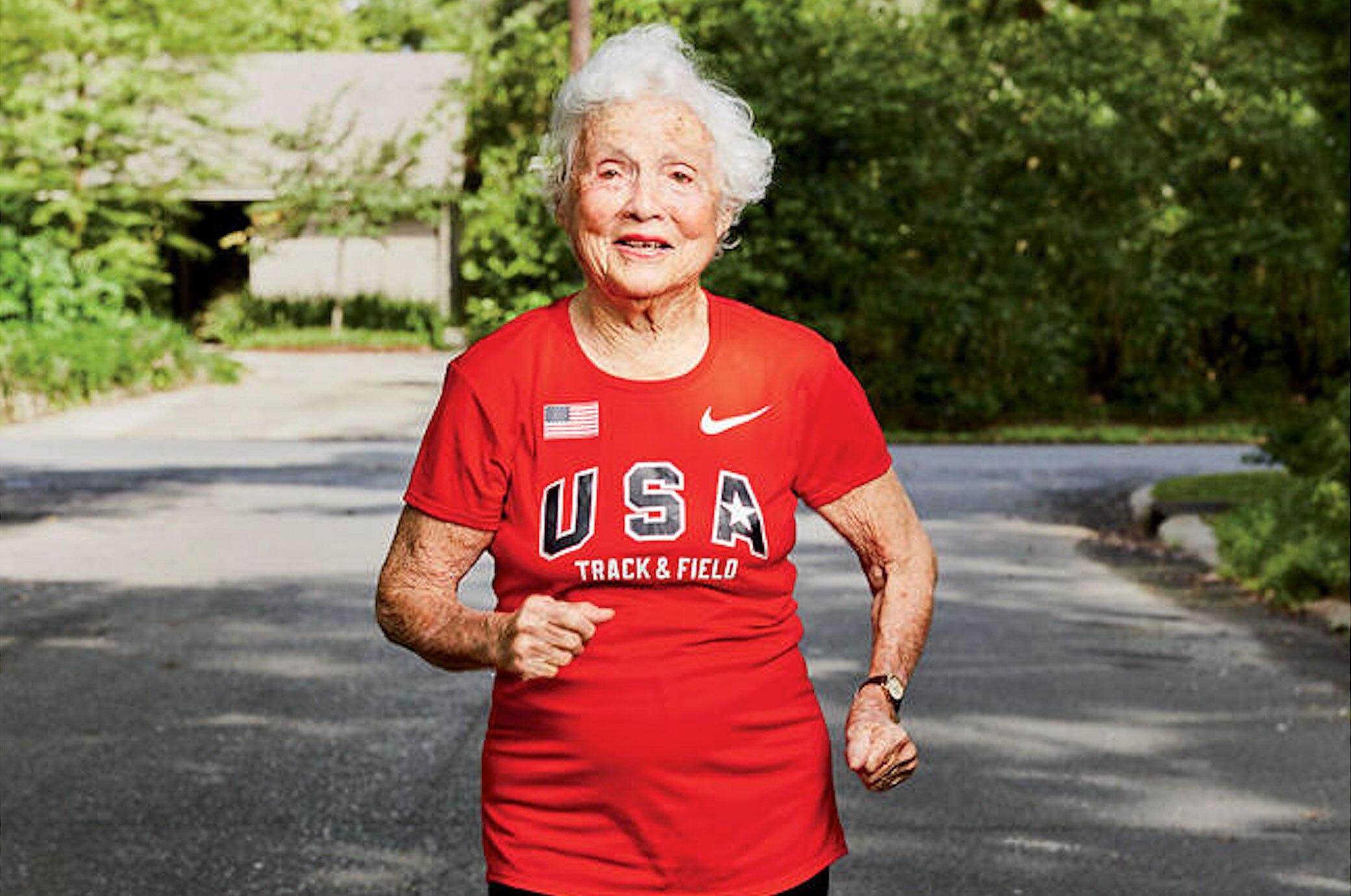 Diese 101-Jährige hält den Weltrekord im Sprint