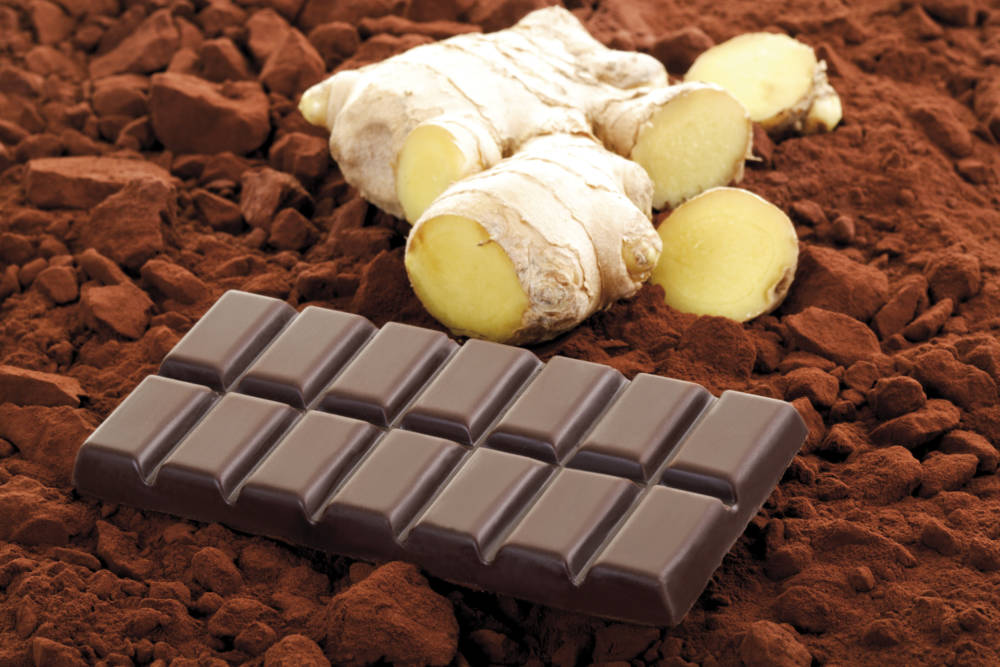 Ingwer-Schokolade hilft gegen Reiseübelkeit
