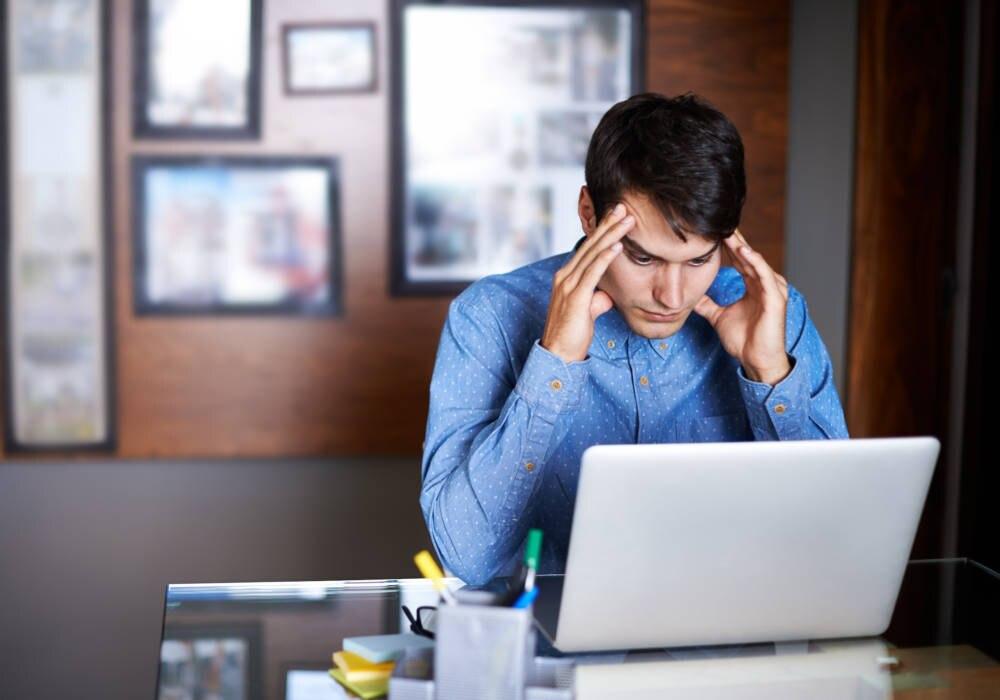 Büro-Stress