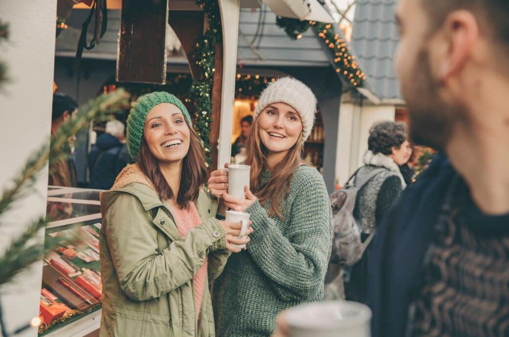 Den idealen Imbiss für kalorienbewusste Weihnachtsmarkt-Besucher gibt es nicht? Oh doch!