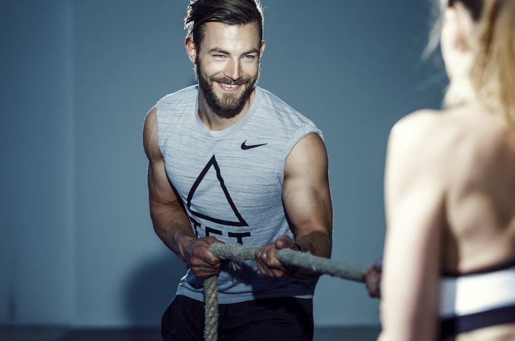 Erik Jäger ist Ausbilder für Functional Fitness, Faszientraining und BodyArt Extrem