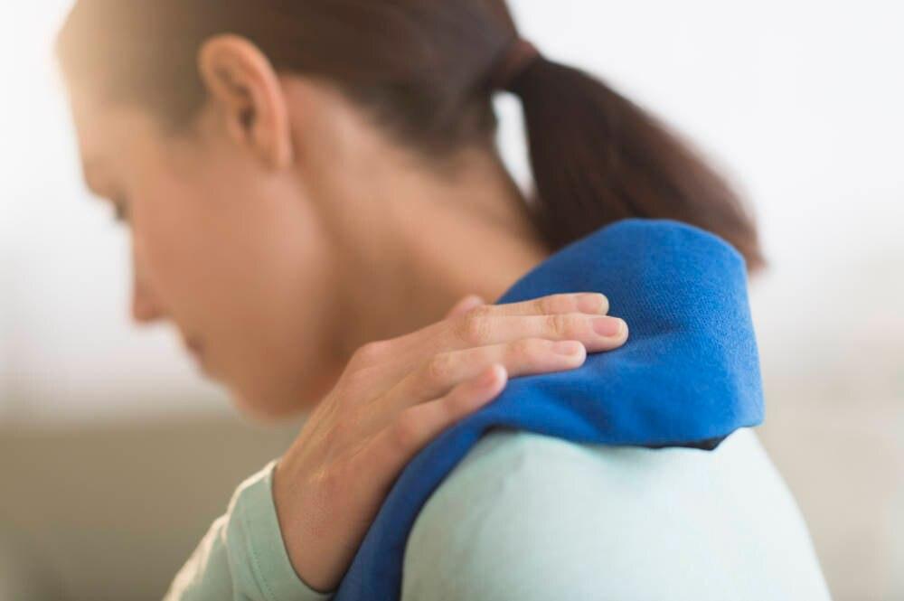 Rückenpatientin