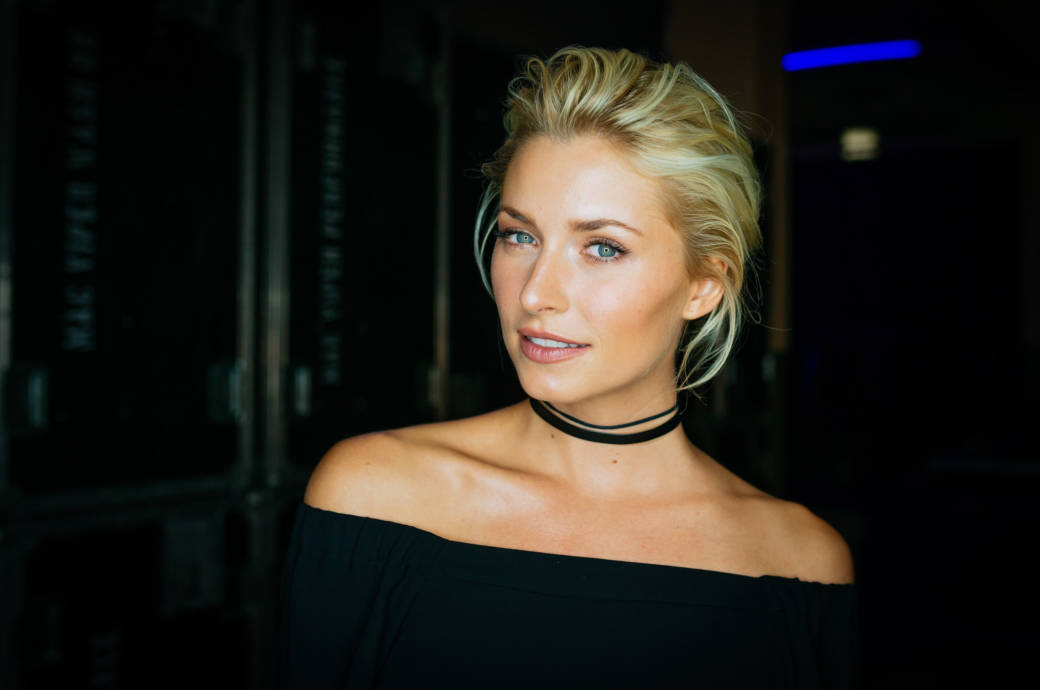 Lena Gercke: s.Oliver THE FUSION COLLECTION Fashion Show