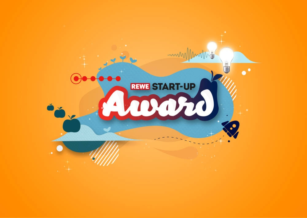 Keyvisual vom REWE Start-up Award