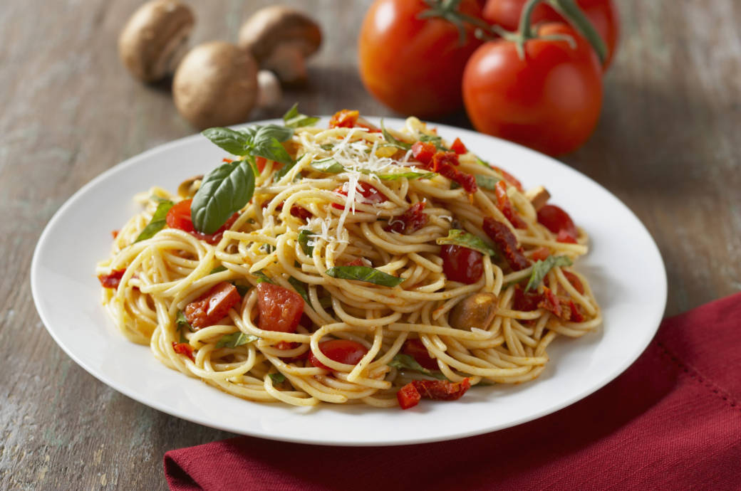Spaghetti-Teller