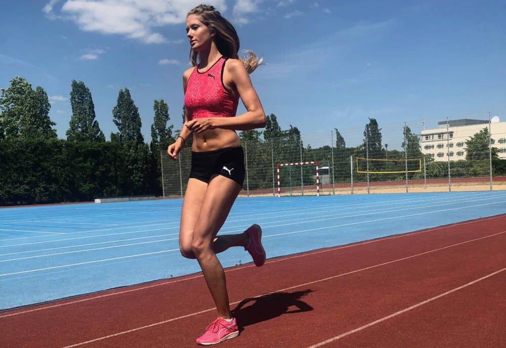 Nachwuchs-Leichtathletin Alica Schmidt