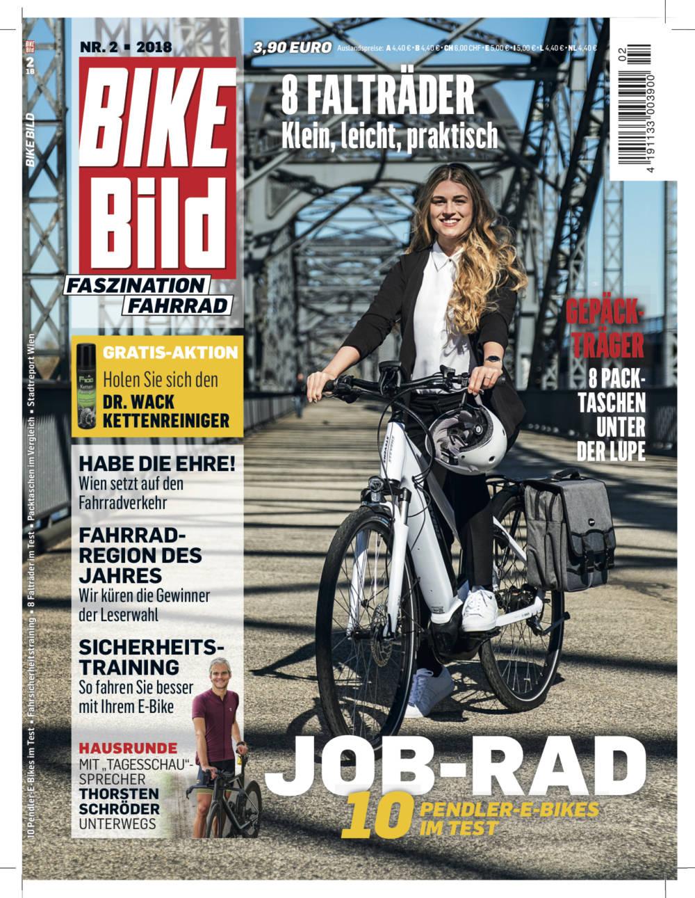 Das Cover der BIKE BILD