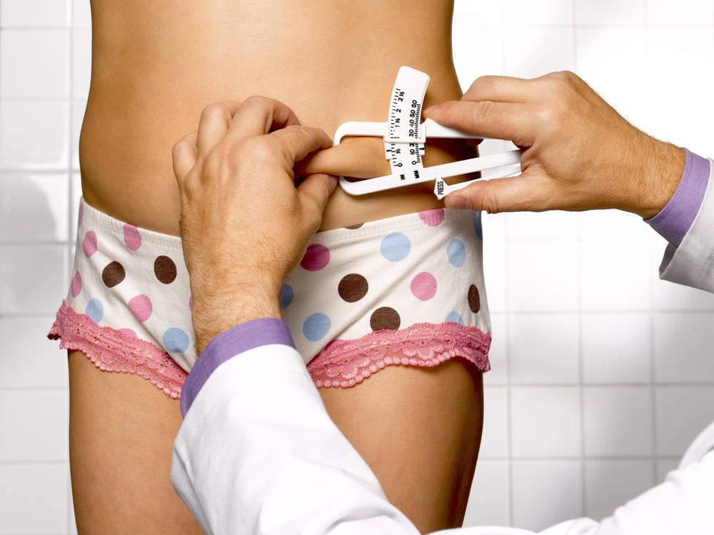 Calipometrie-Messung beim Arzt