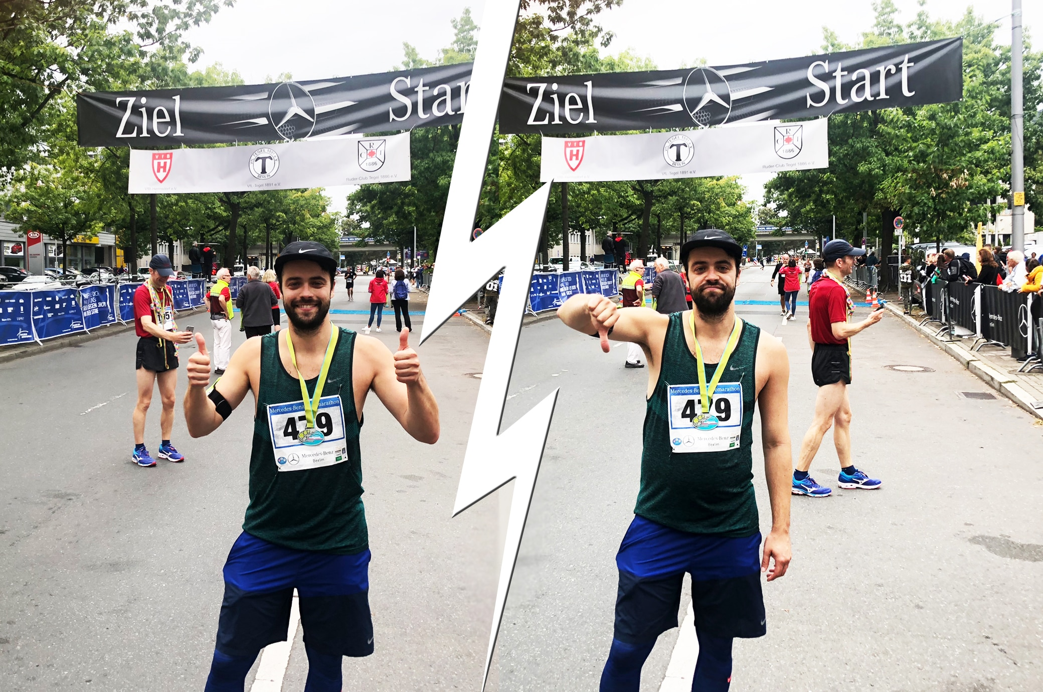 Hat ER den Halbmarathon in UNTER 2 Stunden geschafft?