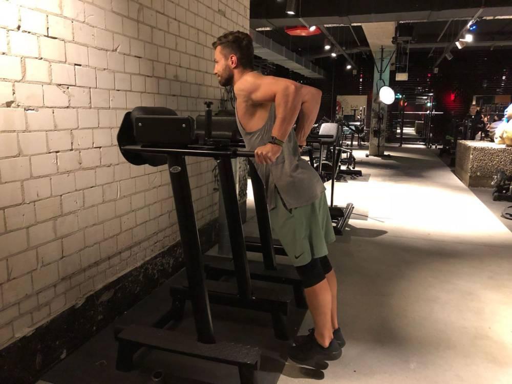 Erik Jäger Fitnessoutfit