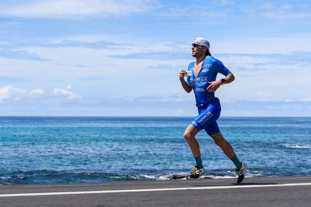 Patrick Lange bei seiner Paradedisziplin, dem Laufen