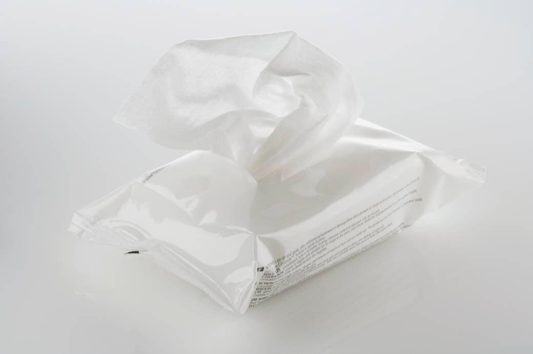 Feuchtes Toilettenpapier
