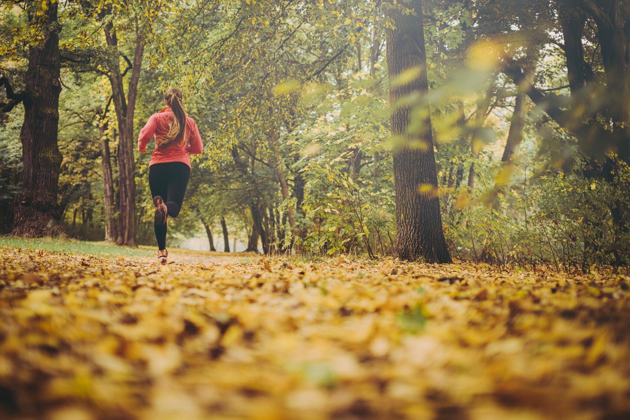 Warum der Herbst ideal ist, um mit Laufen anzufangen