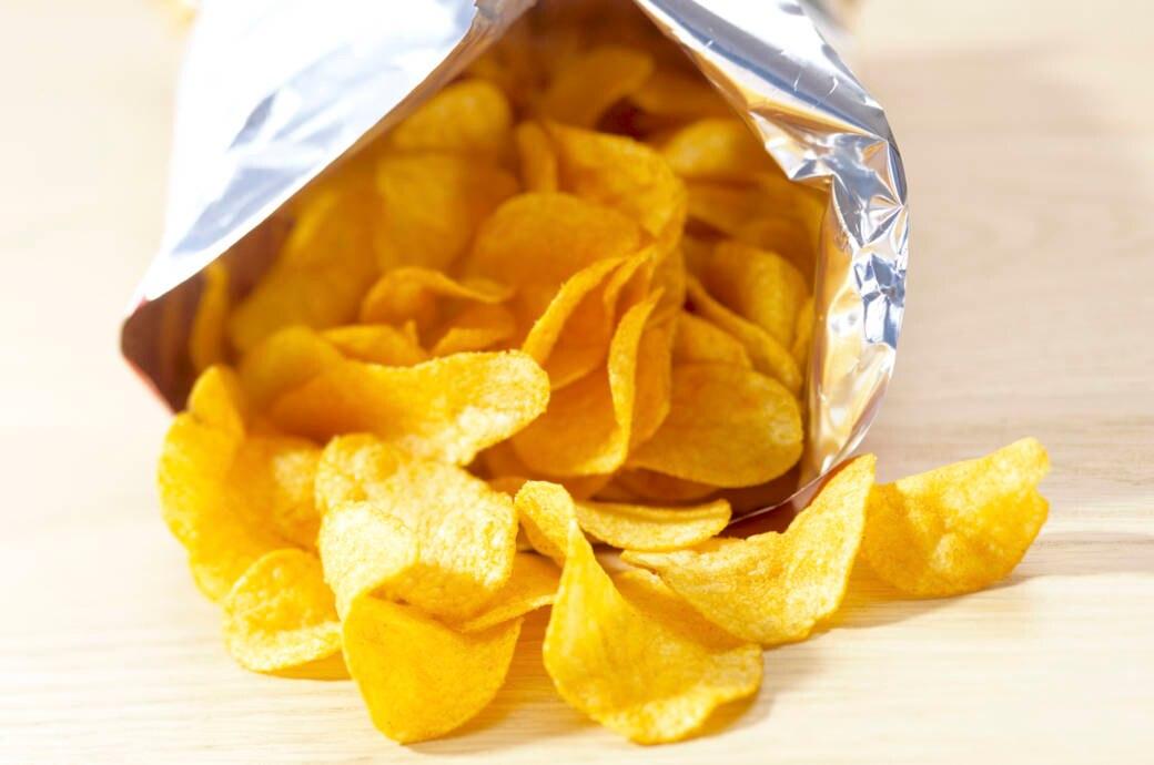 So lange trainieren Sie eine Tüte Chips ab