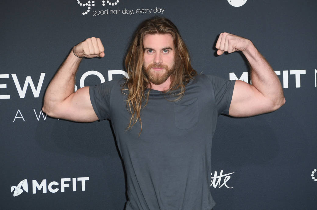 Brock O'Hurn beim New Body Award By McFit Models