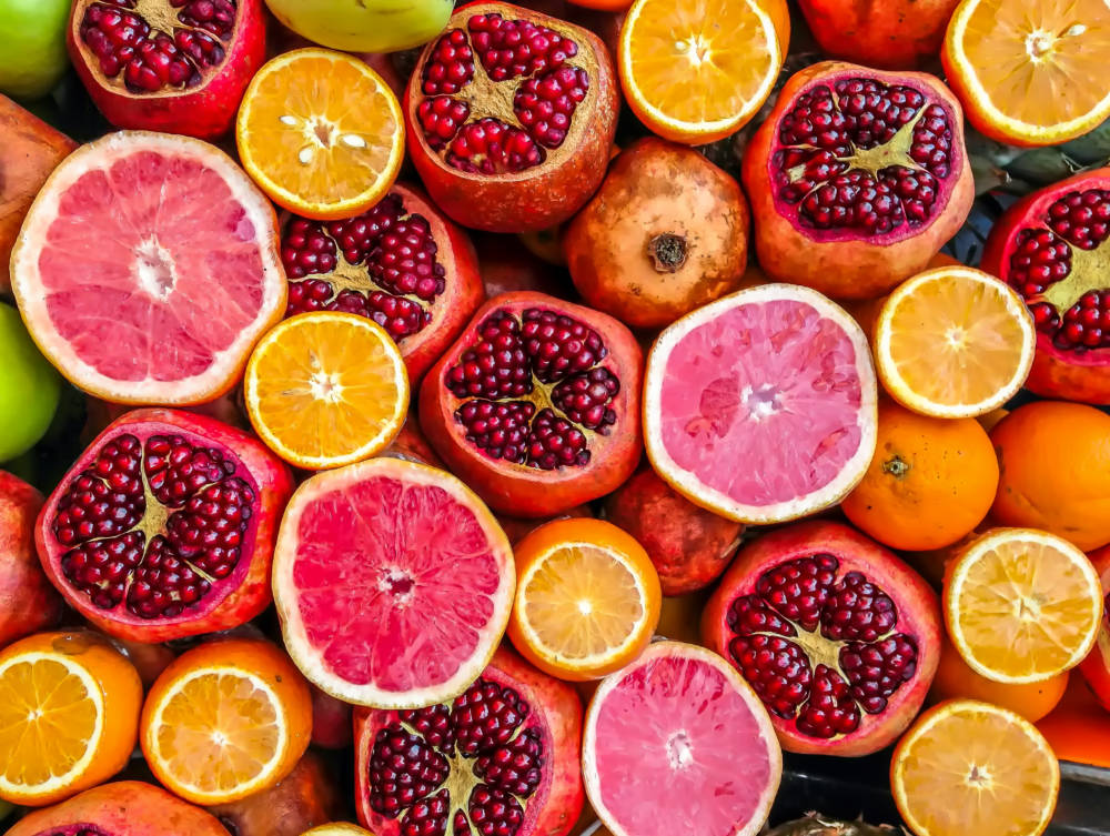 Zitrus Früchte