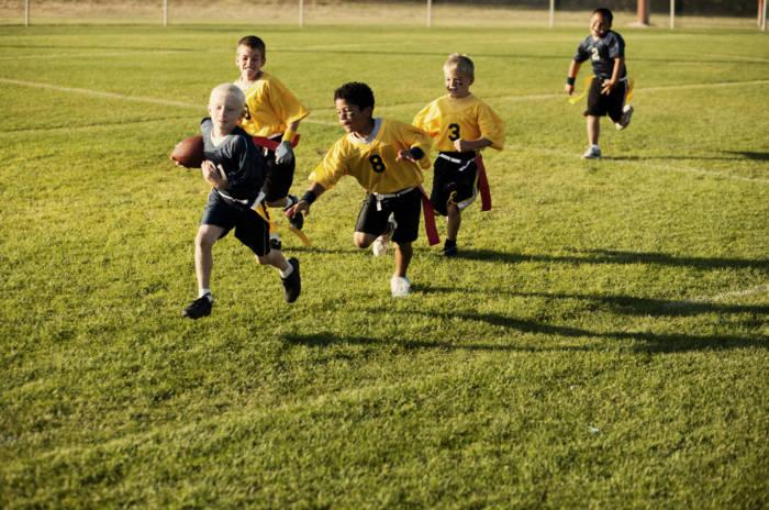 Flag Football Action