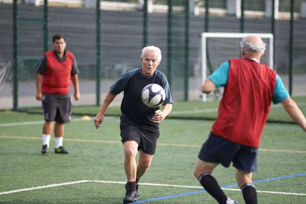 Senioren beim Fußball
