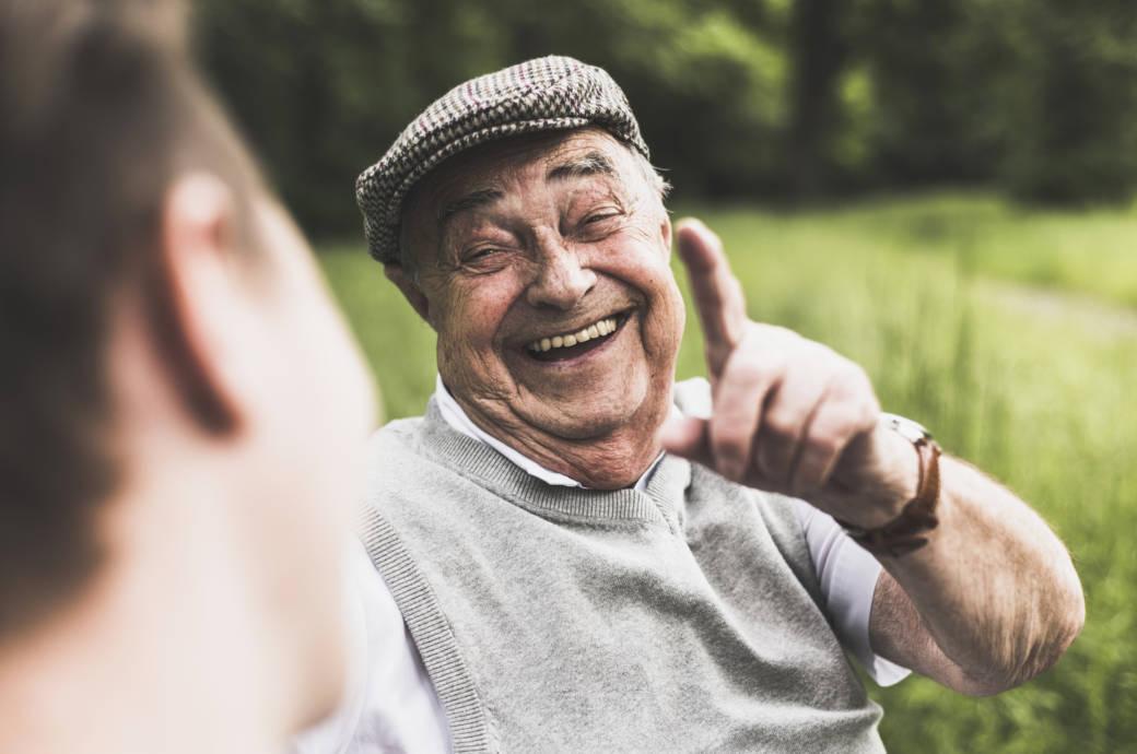 Das bewirkt Humor für die Lebenserwartung