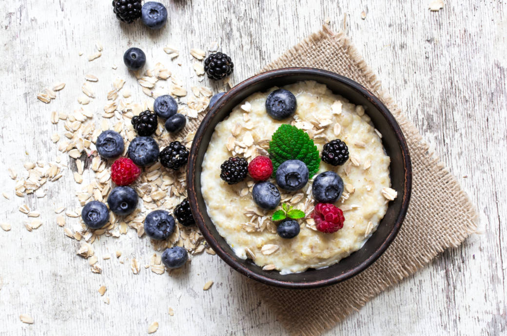 Haferflocken, Porridge