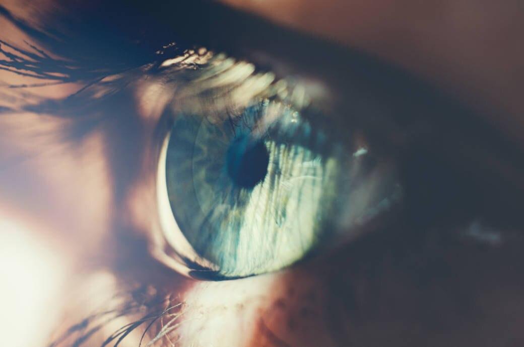 Nahaufnahme von Auge
