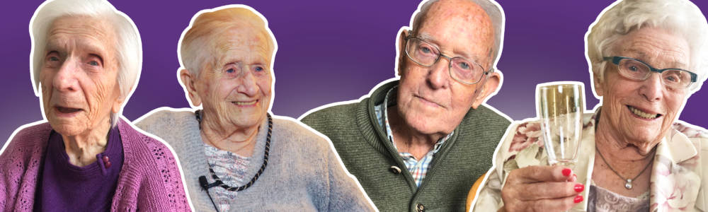 """Grafik """"Die Geheimnisse der 100-Jährigen"""""""