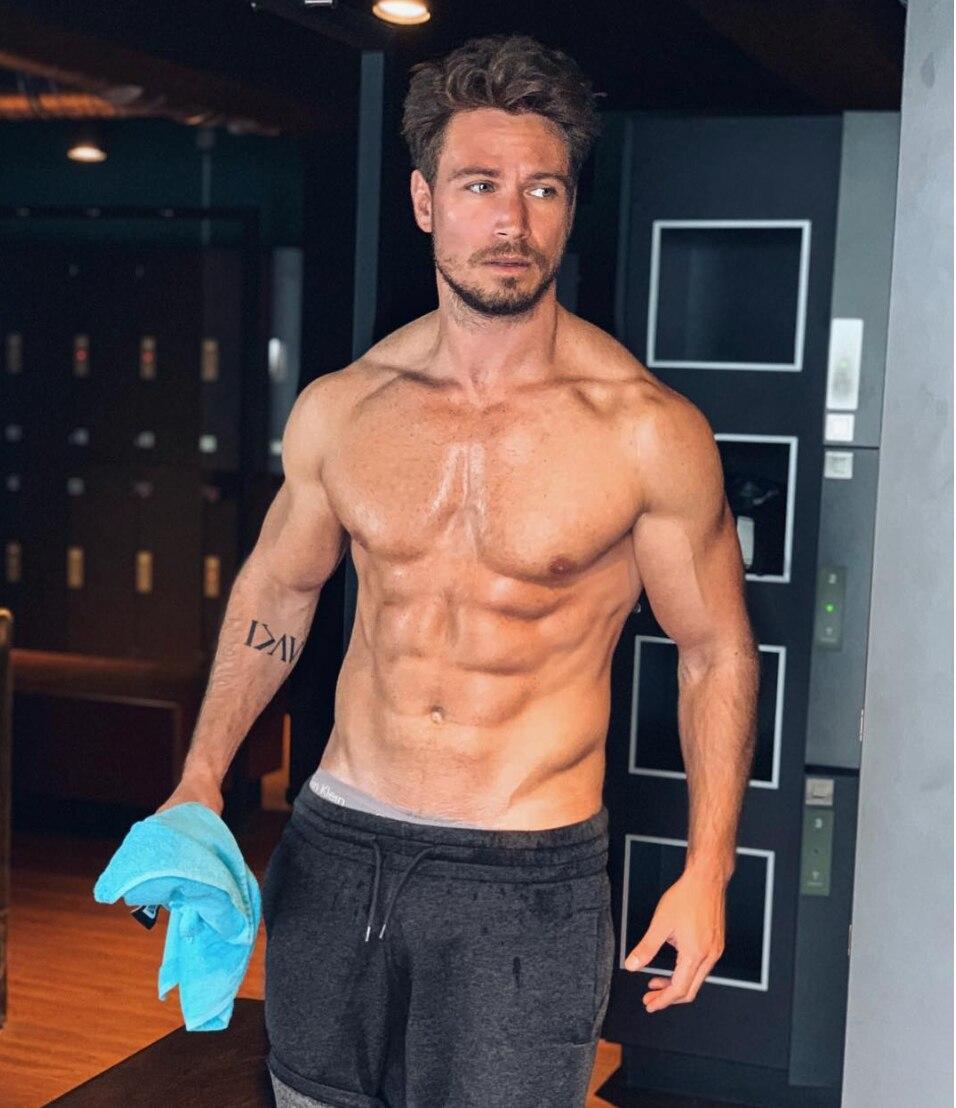 Sebastian Pannek im Gym