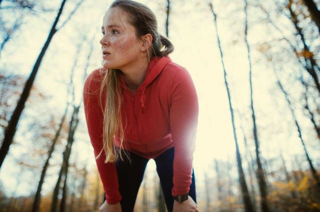 Warum werde ich beim Sport schneller rot als andere?