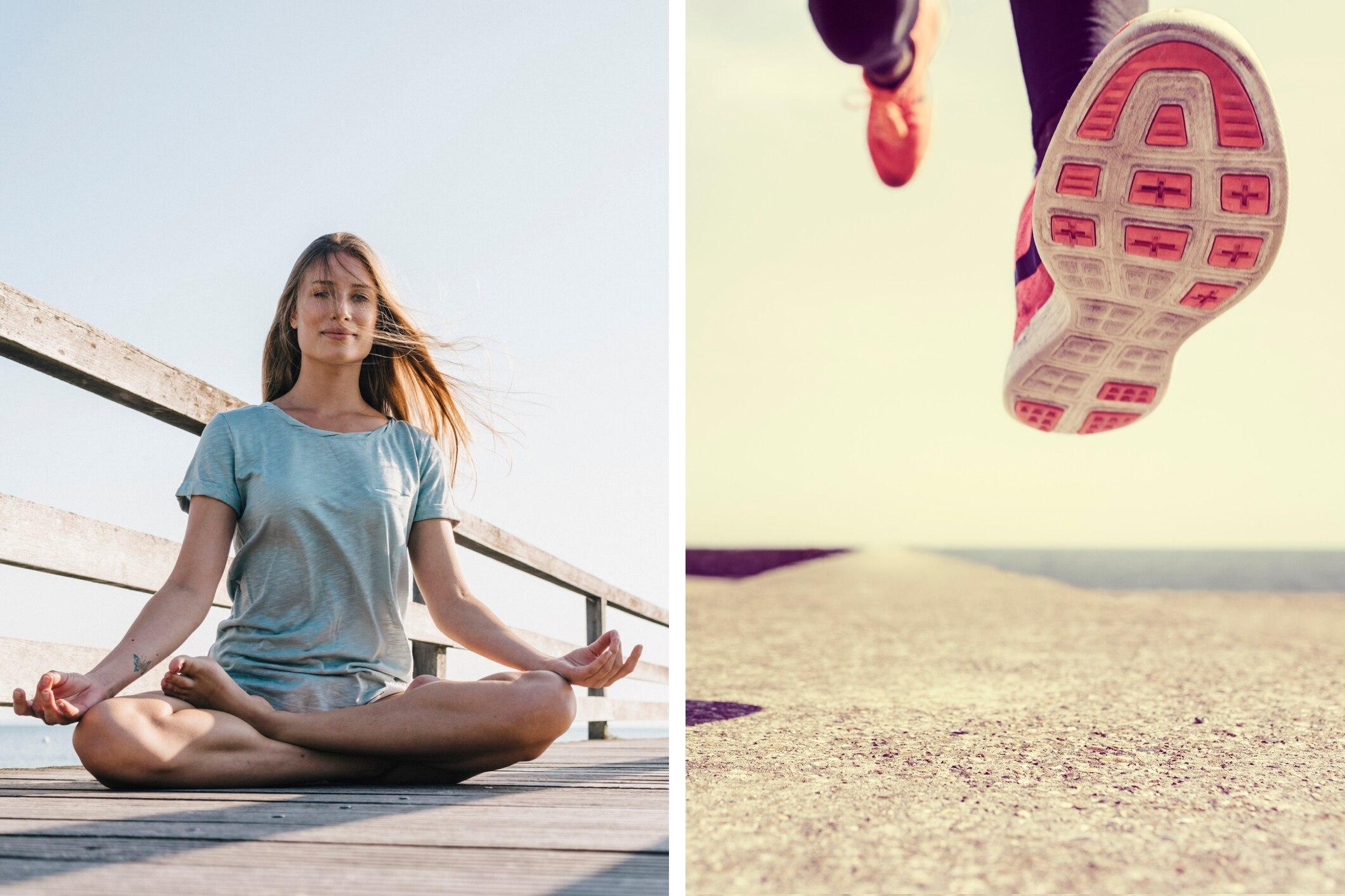 Warum Läufer unbedingt Yoga machen sollten
