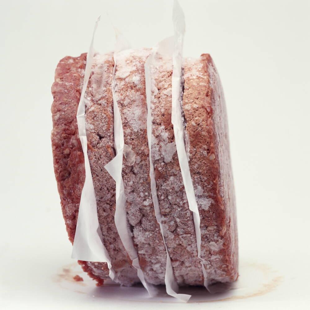 Gefrorene Burger-Patties