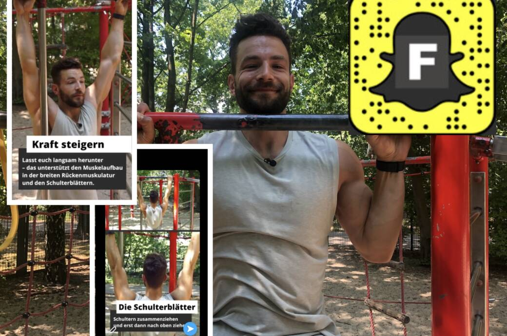 FITBOOK startet Show auf Snapchat