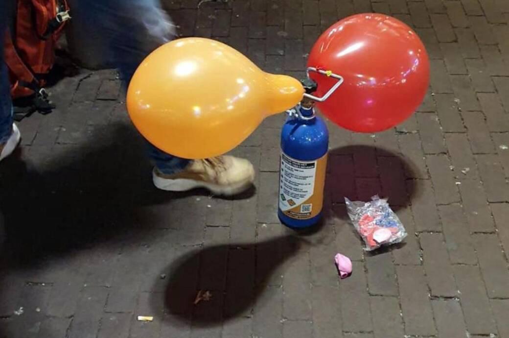 Partydroge Lachgas