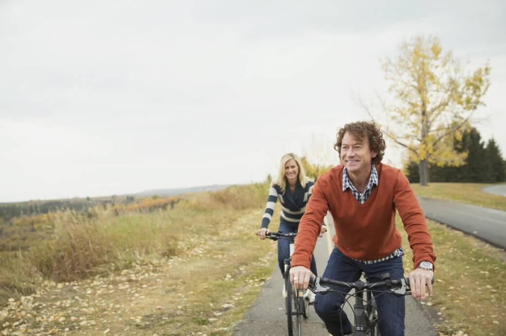 So sitzt man gesund auf dem Fahrrad