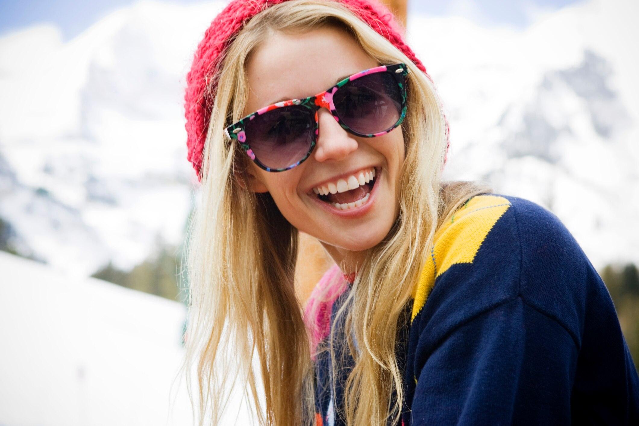 Sollte ich auch im Winter eine Sonnenbrille tragen?