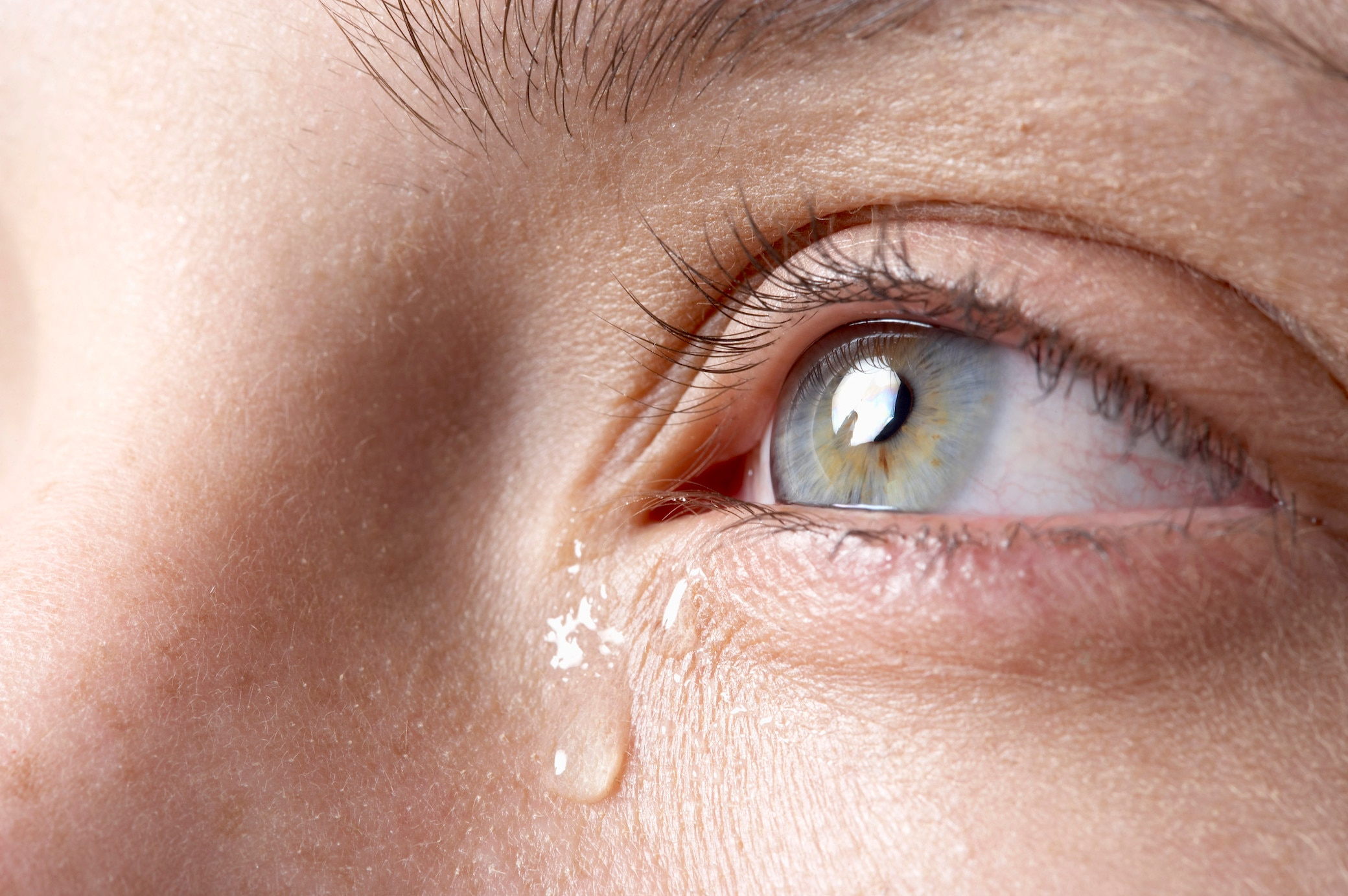 Bald könnte man Nervenerkrankungen an den Tränen erkennen