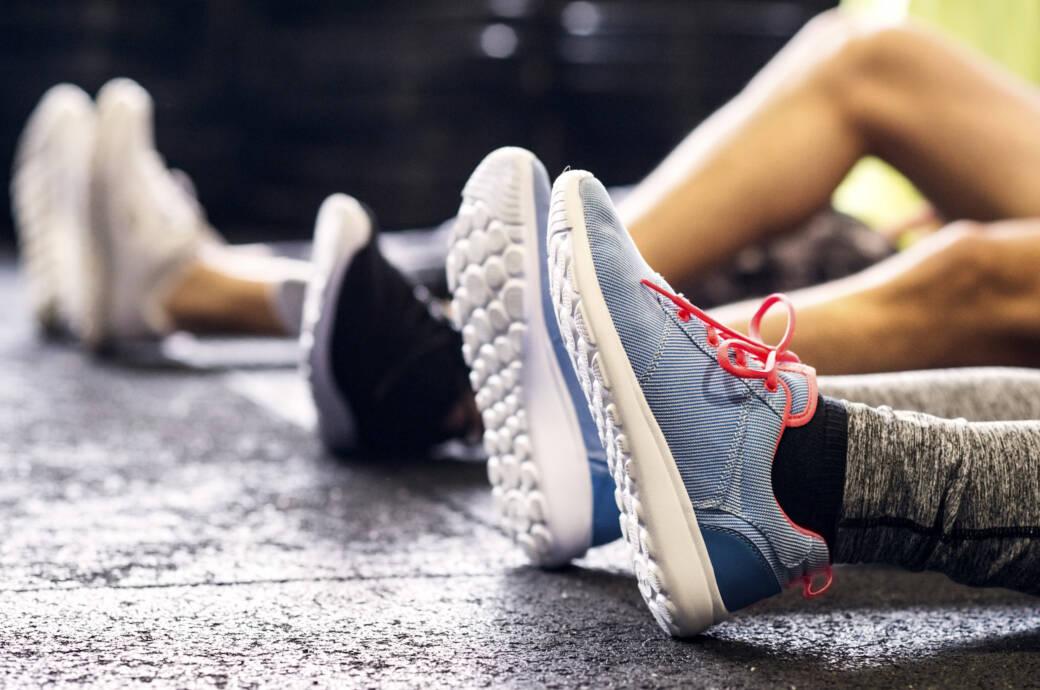 Detraining: Sportler während der Trainingspause