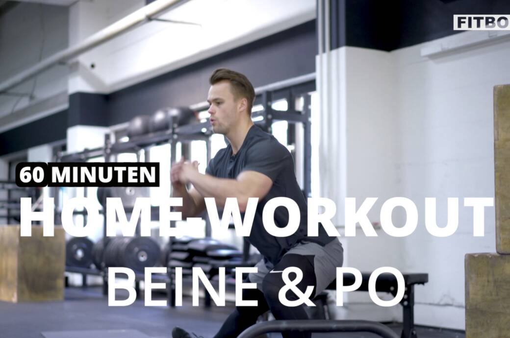 Beine und Po zu Hause trainieren: effektives Workout ohne Equipment
