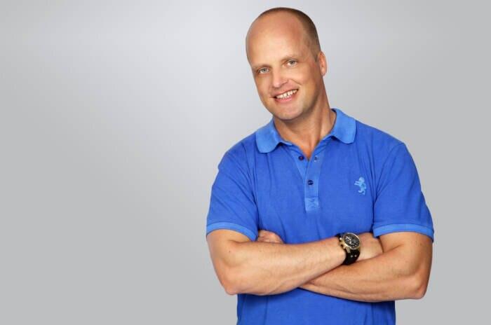 Celebrity trainer Jörn Giersberg