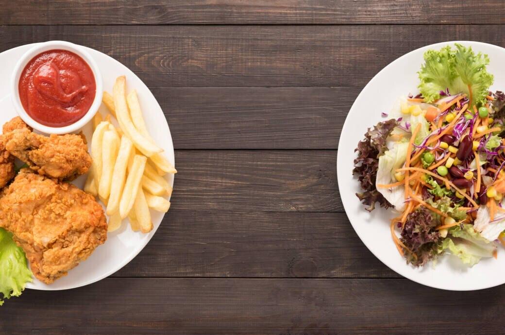 Fleich oder kein Fleisch auf dem Teller? Die Ernährungsform hat Einfluss auf die Gesundheit