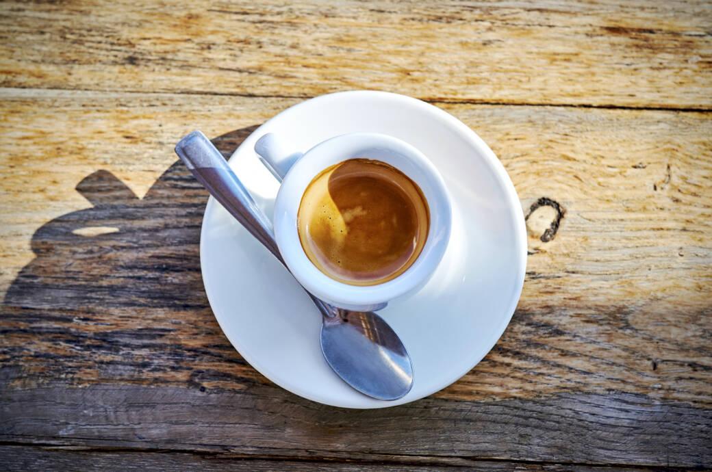Kaffee vor dem Sport: Espresso
