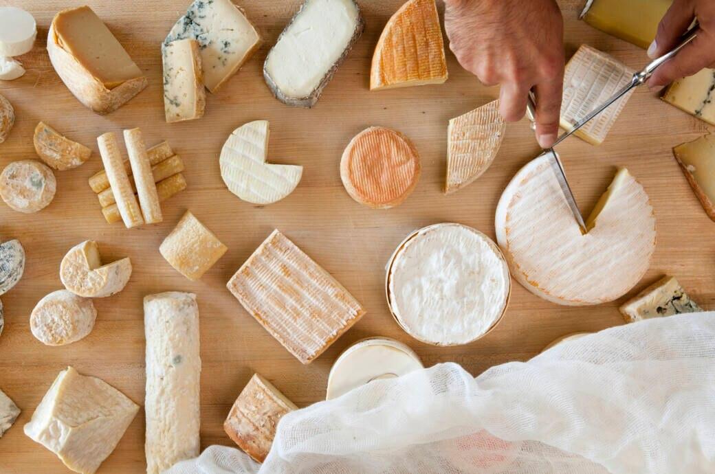 Käsesorten im Vergleich: Fett und Kalorien