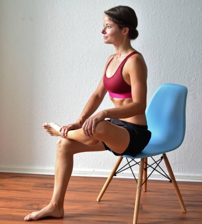 Dehnung des Piriformis-Muskels