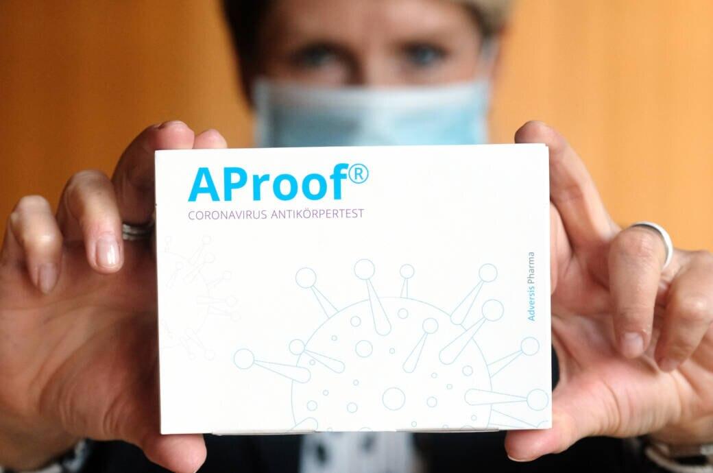 Corona-Antikörpertest für zu Hause