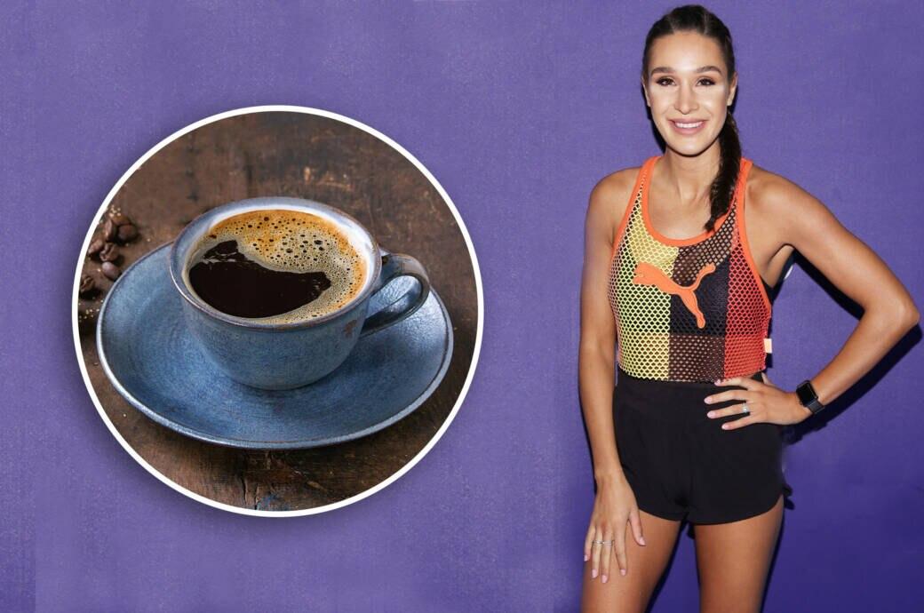 Fitness-Ikone Kayla Itsines empfiehlt Kaffee erst nach dem Frühstück