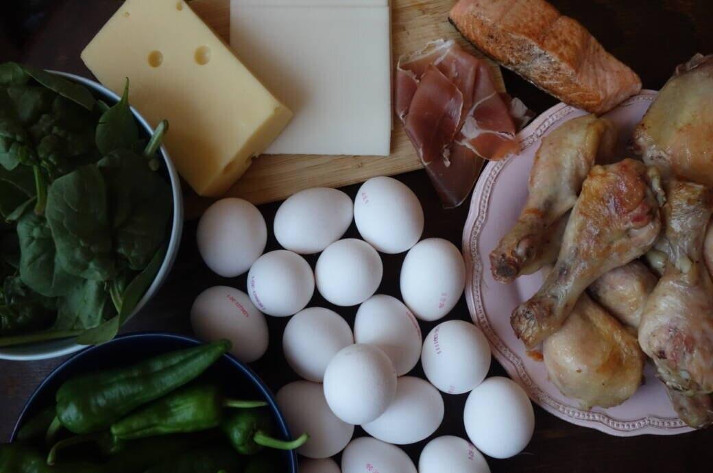 Selbstversuch: Diät ohne Kohlenhydrate, aber mit bestimmtem Gemüse, Eiern, Käse, Fleisch und Fisch