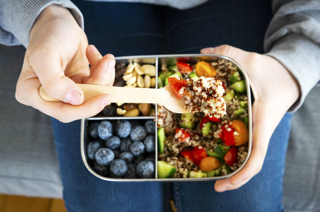 Clean Eating: Essen in Lunchbox